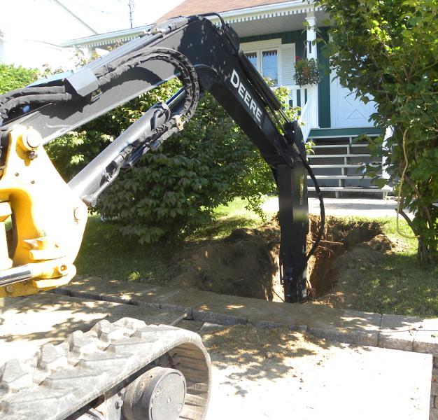excavation, Excavation, Plomberie Ren-Ga, Plomberie Ren-Ga