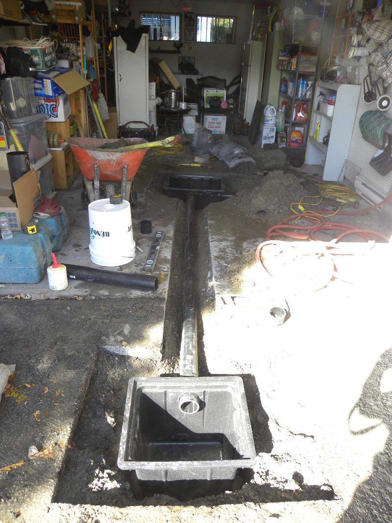 Clapet antiretour, Clapet antiretour pour bassin de garage, Plomberie Ren-Ga, Plomberie Ren-Ga