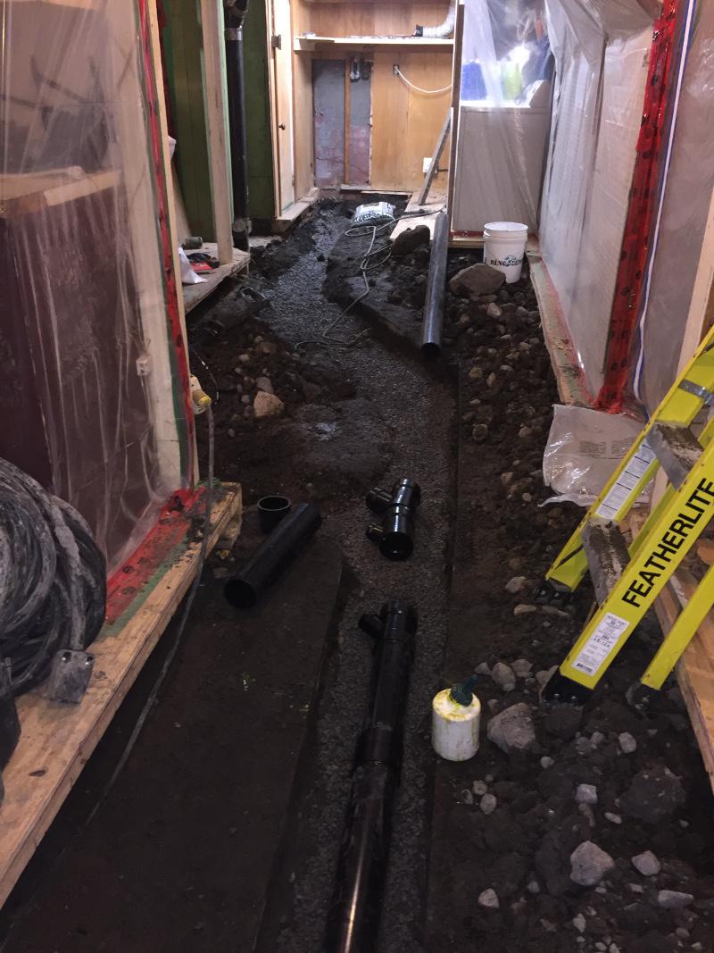 remplacement de tuyaux, Installation et remplacement de tuyaux, Plomberie Ren-Ga