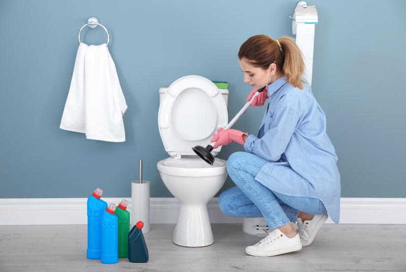débouchage de toilette, Débouchage de toilettes, Plomberie Ren-Ga