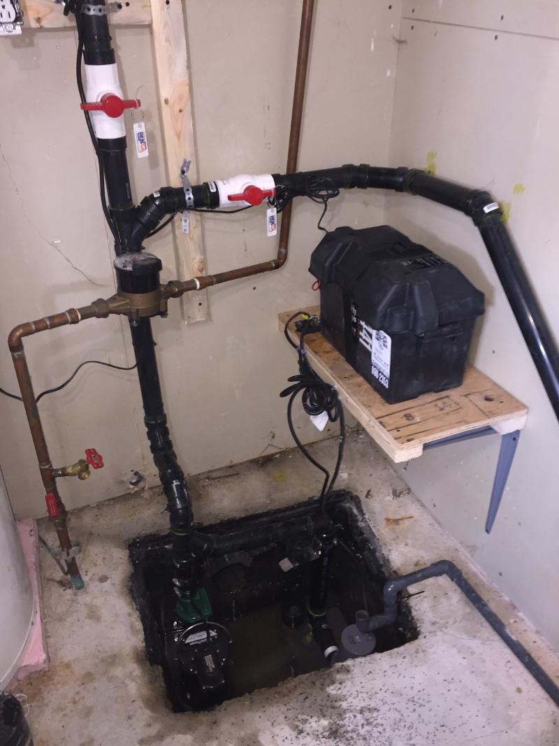 Pompe submersible, Clapet antiretour – Pompe submersible, Plomberie Ren-Ga