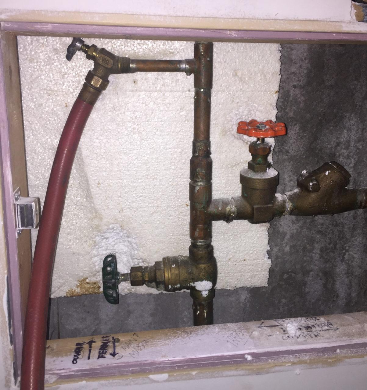 valve d'arrêt, Valve d'arrêt, Plomberie Ren-Ga